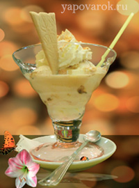 Рецепт мороженого из сгущенки