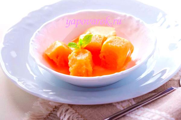 сорбет из абрикос
